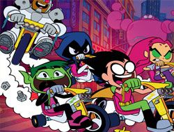 Teen Titans Go To The Movies Riders Block