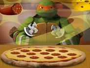 Teenage Mutant Ninja Turtles Pizza Time