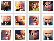 The Boss Baby Memory Game