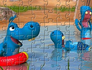 The Happos Family Characters Puzzle