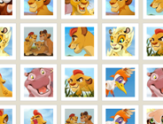 The Lion Guard Memory Cards