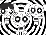 The Powerpuff Girls Coloring Game