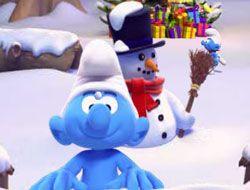 The Smurfs Snowball Fight