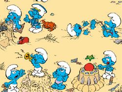 The Smurfs Spot the Difference