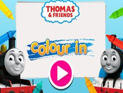 Thomas and Friends Colour In