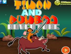 Timon and Pumbaa Adventure