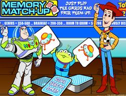 Toy Story 2 Memory Match Up