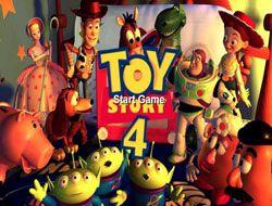 Toy Story 4 Sliding Puzzle