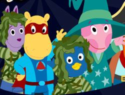 Trick or Treat with the Backyardigans