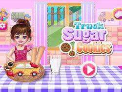 Truck Sugar Cookies