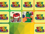 Uncle Grandpa Memory Cards