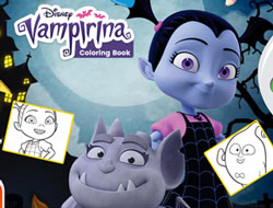 Vampirina Coloring Book