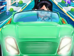 Vanellope Driving Slacking