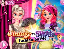 Vintage Vs Swag Fashion Battle