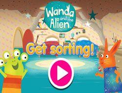Wanda and the Alien Get Sorting