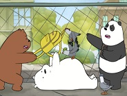 We Bare Bears Feathered Chase