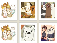 We Bare Bears Memory Game