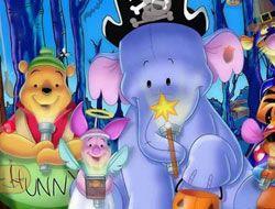 Winnie the Pooh Halloween Hidden Objects