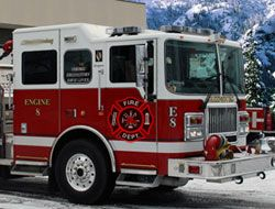 Winter Firefighters Truck I