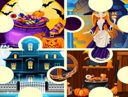 Witch's House Halloween Puzzles