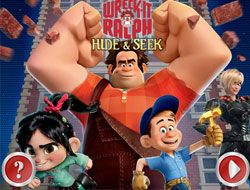 Wreck It Ralph Hide and Seek