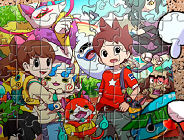 Yo-Kai Watch Characters Puzzle