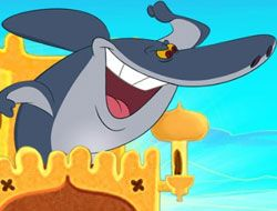 Zig and Sharko Sandcastle Battle