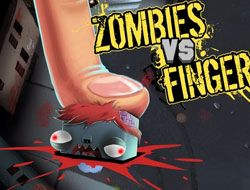 Zombie Vs Finger
