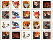 Zootopia Memory Cards
