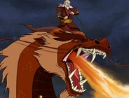 Zuko's Dragon Flight